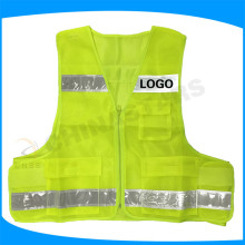 Chaleco de seguridad reflectante de alta visibilidad EN471