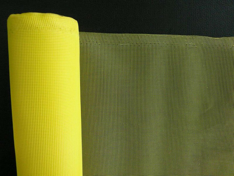 Tela Plain Weave Plastic Window Screen