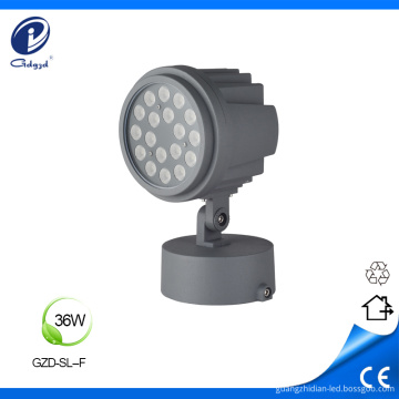 36W impermeable IP65 paisaje con focos led de base