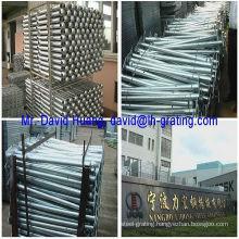 Hot DIP Galvanized Welded Steel Handrails, Welded Steel Stanchions