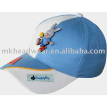 Gorra de béisbol para niños con bordado hermoso (kk76170)