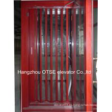 Pvc puerta plegable / puertas plegables de aluminio