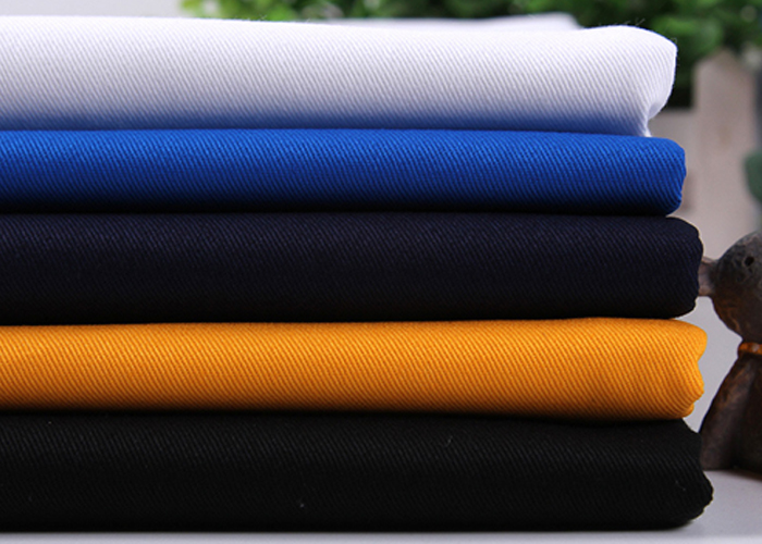 65 Polyester 35 Cotton Twill Dyed Fabric