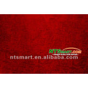 red color warp knitting polyester fabric for chair cover sofa cushion