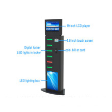 15 Inch LCD Advertising Charging Player for Restaurant