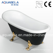 Luxury Antique Clawfoot Acrylic Double-Ended Hot Tub (JL622)