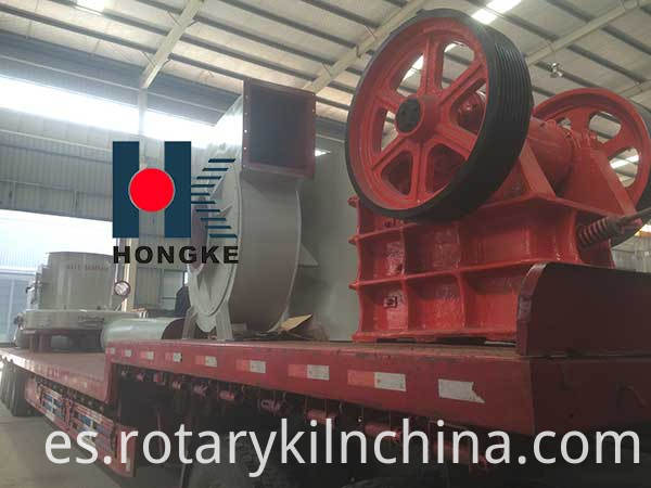 Jaw crusher delivery
