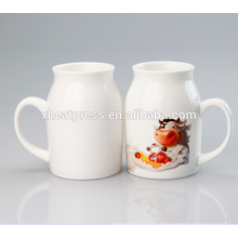 New Arrival Sublimation Caneca de leite cerâmica-450ml