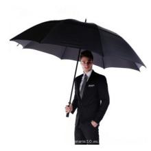 Paraguas de negocios automático de promoción, paraguas de golf grande
