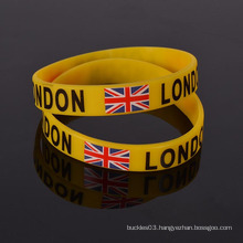 Custom Personalized novelty printed silicone wristband for event
