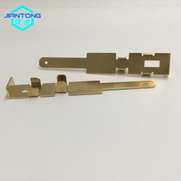 Piezas eléctricas de latón estampado latón estampado Hardware
