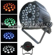 Led par 64 luz 18 x 3W tri luz do par do RGB 3W, par led 18 * 3w, par conduziu 3inl