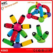 Магнитные шарики с палочками