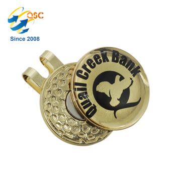 Großverkauf-Magnet mit kundengebundenem magnetischem Golf-Kappen-Klipp mit Ball-Markierung