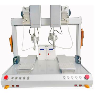 Máquina de solda automática de conector USB para soldagem de fio robótico