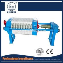 320 Mini filtro prensa de alta calidad
