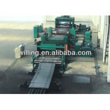High speed cut to length machine line for carbon steel coil