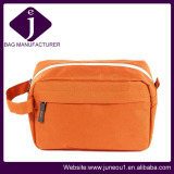 Orange 600d Oxford Fabric Lady Cosmetic Bags