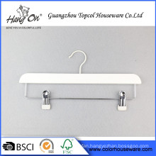 Two Clips Wooden Hanger for suit Wholesale Wood Hanger