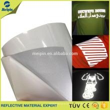 Heat Press Transfer Reflexivo vinilo película camiseta cortador Plotter Cricut silueta