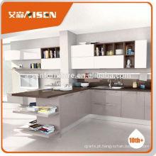 Fábrica de venda quente armários de cozinha diretamente desmontados