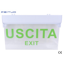 297 Emergency Exit Sign, Emergency Light, LED Emergency Exit Sign,