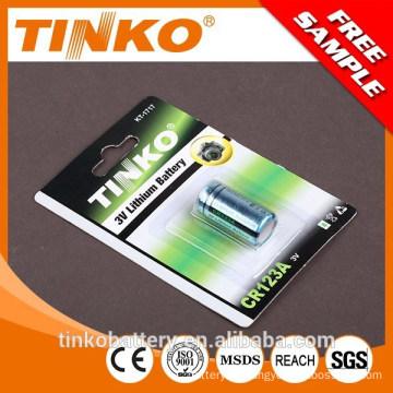 Interchangeable battery CR2 CR123A in Shenzhen