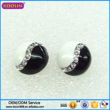 Boucle d'oreille fantaisie de bijoux de prix d'usine, boucles d'oreilles attrayantes de goujon de presse #223552