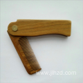 sandalwood foldable beard wood comb
