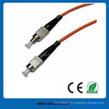 Cordon de correction de fibre optique standard FC Simplex