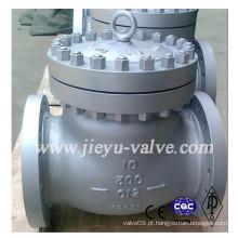 API JIS DIN C5 / C12 Válvula de retenção flange Swing