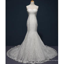 Meerjungfrau Spitze Brautkleid