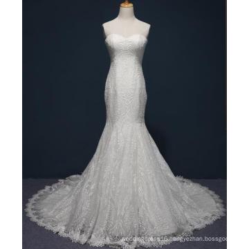 Mermaid Lace Bridal Wedding Gown