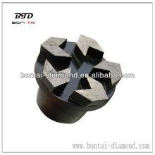 Conectores de hormigón de diamante PD74 Segmento de flecha