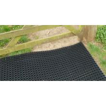 Anti-Slip Cellular Structure Rubber Mat, Hard Wearing Rubber Mesh Mat, Playground Rubber Safety Mats, Anti-Slip Deck Rubber Mat