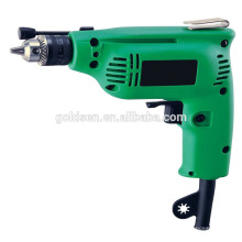 Inde Hot Selling 6.5mm / 10mm 230w Power Hand Drill Mini Drilling Machine Portable