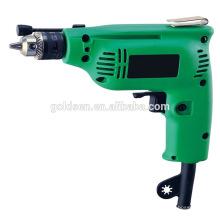 Índia Hot Selling 6.5mm / 10 milímetros 230w poder manual mão broca mini elétrica furadeira portátil