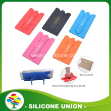 Silicone Mobile Phone Case Card Holder