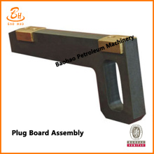 Pengeboran Mud Pump Fluid End Flash Board