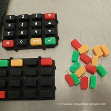 Dual Color Silicone Rubber Keypress Keyboard