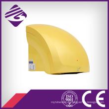 Secador de manos automático amarillo pequeño montado en la pared del hotel del ABS (JN70904B)