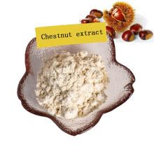 extrato de castanea mollissima de suprimento de fábrica / extrato de kernel de castanha em pó 10: 1