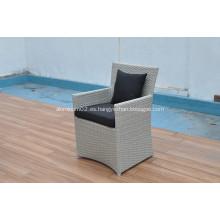 2019 nuevo diseño de muebles de exterior de mimbre fábrica de Dongguan