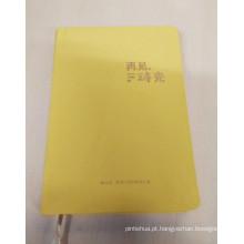 Tamanho 193 * 131mm Cloth Cover Notebook