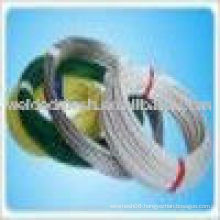 green pvc coating wire