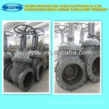 Estándar ruso de alta presión DN150 válvula de compuerta para GLP