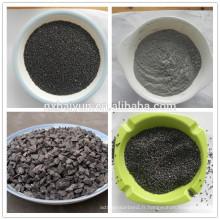 95% Al2O3 conctent pour l'utilisation réfractaire marron naturel corindon prix