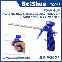 Alta qualidade polimento alumínio liga poliuretano espuma pistola