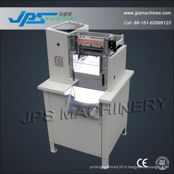 Machine de découpage de film de Jps-160 PP, de Mylar et d'animal familier