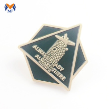 Custom made metal badges for bags